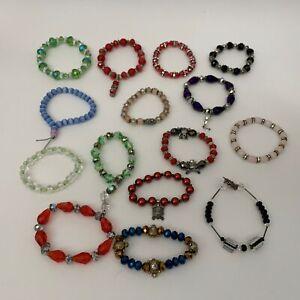 Beaded Bracelet for Girls Lot of 15 Pretend Play Dress Up