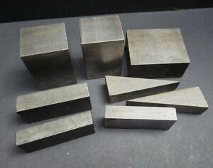 Machinist Parallels Riser Blocks Fixture Set Up Blocks Mill Steel Stock Parallel