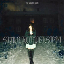 STINA NORDENSTAM - THE WORLD IS SAVED - NEW SEALED US CD+ 3 BONUS TRACKS