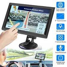"5""/7""/9""Touch Screen Car Truck GPS Navigation Navigator 8GB 56MB RAM W/Free Map"