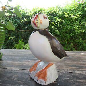 Vintage Andersen Designs Original Ceramic Puffin Sculpture RARE Signed