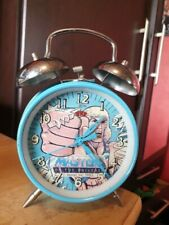 MASTERS OF THE UNIVERSE Vintage Alarm Clock He Man 1983 Mattel