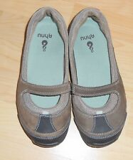 AHNU Brown Mary Jane Style Slip on Shoes Women's Size 6.5