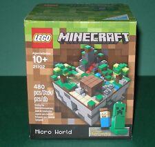 Lego Cuusoo 21102 Minecraft Der Wald! Steve und Creepper! NEU und OVP!