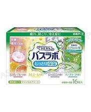 Japan Medicated HERS Moist Moisturizing Relaxing Bath Salts 4 types × 4 tablets