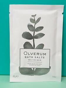Olverum : Bath Salts : 40g New, sealed