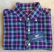NWT MENS VINEYARD VINES Classic Fit Murray Shirt Long Sleeve Plaid Shirt Small