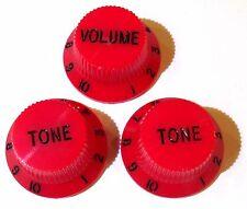 Guitar knobs tone / volume, Black White Red Green Pink Yellow Blue Purple Cream
