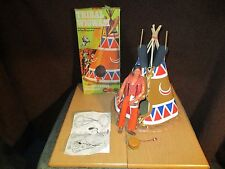 Lone Ranger - Wig Wam mit OVP & 1 Indianer von 1973 Gabriel toys