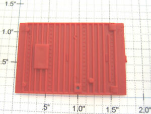 American Flyer 8478-14 Red Painted Boxcar Door w/o Latch