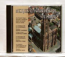 MOERLEN, REBER & BAUMANN Musique à la Cathedrale de Strasbourg SUDE CD NM