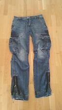 designer jeans Masanfertigung Einzelstück TOP W 29 30 L34 limitiert cargo