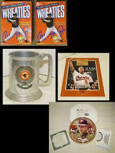 Cal Ripken Collection, Collector Plate, Wheaties, SI magazine, Mug, Orioles