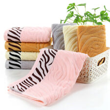 Bamboo Fiber Bath Towel Soft Comfortable Washcloth Absorbent Hand Towel 75x34cm