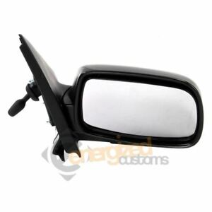 Right Driver Side Wing Door Mirror Glass for Toyota Yaris 2012-20 Chauffé