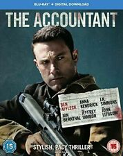 The Accountant Blu-ray UK BLURAY