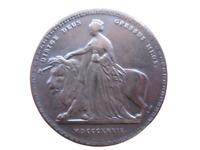 Royaume-Uni Reine Victoria 5 souverains 1839 Tête jeune