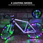 LED Bicycle Bike Cycling Rim Lights Ring Open & Close Wheel Spoke Light String