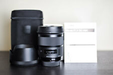 Sigma AF 50mm 1.4 DG Art FX Prime Lens - For Nikon - US Model & MINT!