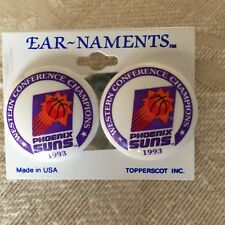 Vintage 1993 Phoenix Suns Conference Champs Post Earrings -Jewelry- Fashion