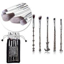 5PCS Metal Harry Potter Varita Mágica asistentes de brochas de maquillaje Cosméticos de maquillaje pincel