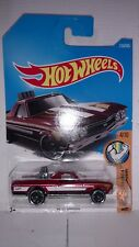 HOT WHEELS 68 el Camino red 1:64 Scale die cast new on blister