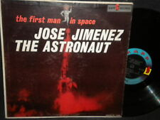 """The First Man in Space Jose Jimenez """"The Astronaut"""" LP"""