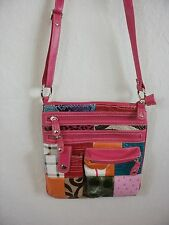 Super Cute Pink and Plaid Pattern Crossbody Pattern Multi Color