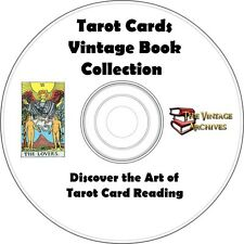 Tarot Cards Vintage Book Collection on CD - Learn How to Read Tarot Cards