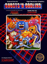 Ghosts 'N Goblins (NES) tested/ working! Excellent Used Condition!!