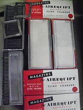"Slide 35mm cassette magazine AIREQUIPT automatic 2x2"" 36 slide capacity 3 UNITS"