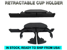 OE Style Black Retractable Front Drink Cup Holder For 1997-2003 BMW 5 Series