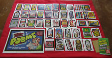 WACKY PACKAGES OLD SCHOOL 4 (TAN) BACK MASTER SET 58/58