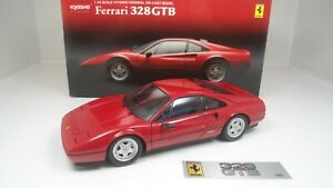 1/18 Kyosho Ferrari 328 GTB Rosso Corsa opening Diecast  MIB MEGA RARE