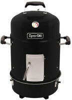 Smoker Grill Charcoal Compact 19 In. Grates Adjustable BBQ Outdoor NEW