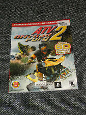 """""""ATV Offroad Fury 2"""" PS2 Strategy Guide Brand New/Never Used   Ships Boxed!"""