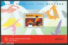 Summer Olympics 1996 Atlanta mnh souvenir sheet Macau #833 Boxing