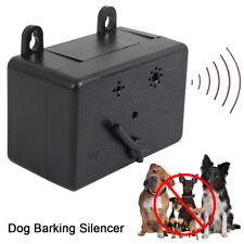 Outdoor Ultrasonic Anti-Barking Device Dog Bark Control Sonic Silencer Tools