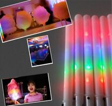 LED Cotton Candy Cone 8 FUNCTION GLOW IN THE DARK COTTON CANDY CONE QTY (50)