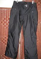 Marker black Snow Ski Board Pants size 14 womens snowboard