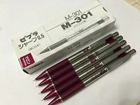 Zebra M-301 Stainless Steel 0.5 mm Mechanical pencil x  2 pcs blue barrel