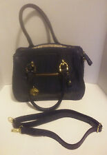 LONDON FOG Woman's Handbag Blue w/ Shoulder Strap