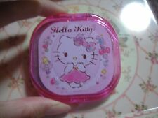 Sanrio Hello Kitty too cute ♡ Clear Lame Kirakira Gritter  Mirror and Comb RARE
