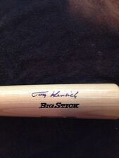 TOM HENRICH Signed Autographed Rawlings Adirondack Big Stick Pro Model BAT AUTO