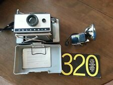 Polaroid 320, Flash, Manual, and Carrying Case