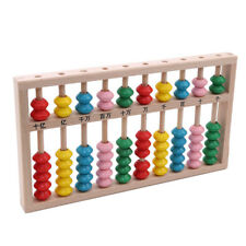 Wooden Abacus Counting Frame Beads Arithmetic Kids Math Educational Toy N7