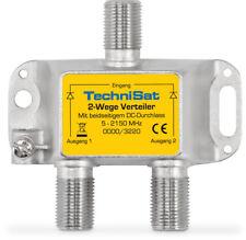 TechniSat 2-Wege Verteiler, 2x DC-Durchlass, Diodenentkoppelt - 0000/3220