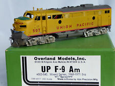 HO Brass OMI UP F-9. Disgracefully sold & shipped by THE WHISTLE STOP Pasadena
