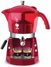 MOKONA BIALETTI CF40 MACCHINA CAFFE' ESPRESSO TRIVALENTE ROSSO TRASPARENTE 1050W