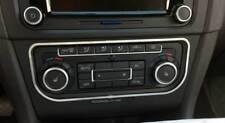 D VW Caddy Chrom Rahmen für Klimabedienteil - Edelstahl poliert